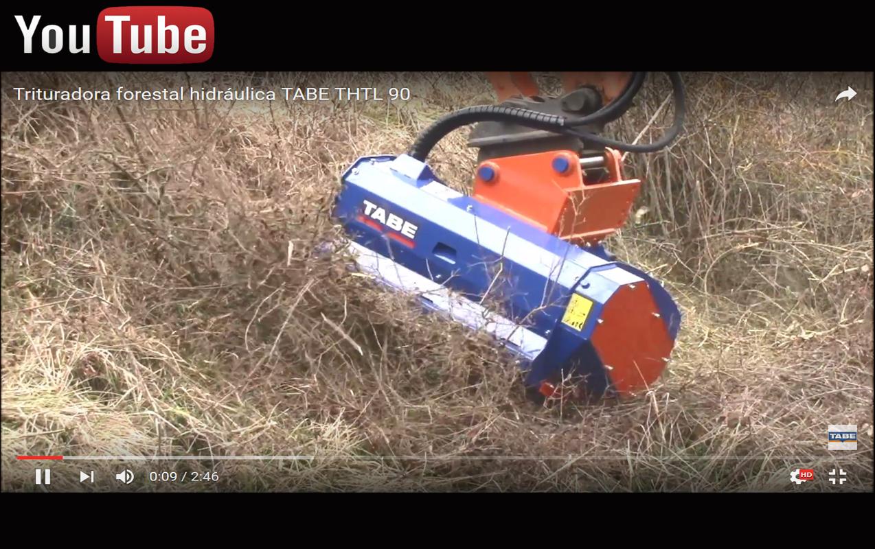 trituradora hidraulica tabe