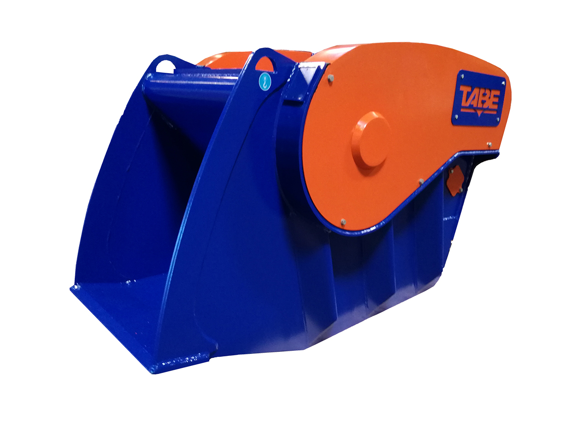 Crusher bucket